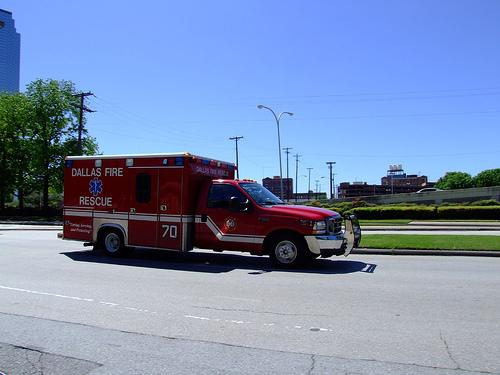 Dallas Fire Rescue EMS is one of two dozen agencies part of a new network of first responders and hospitals saving lives of heart attack patients.