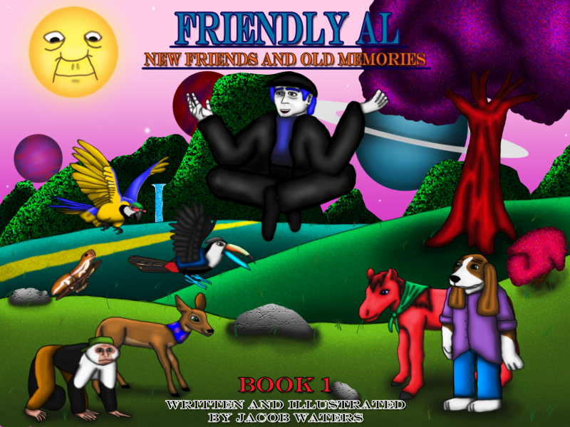 Jacob Waters worked with the nonPareil Institute to publish his book, 'Friendly Al.' It's available for the iPad.