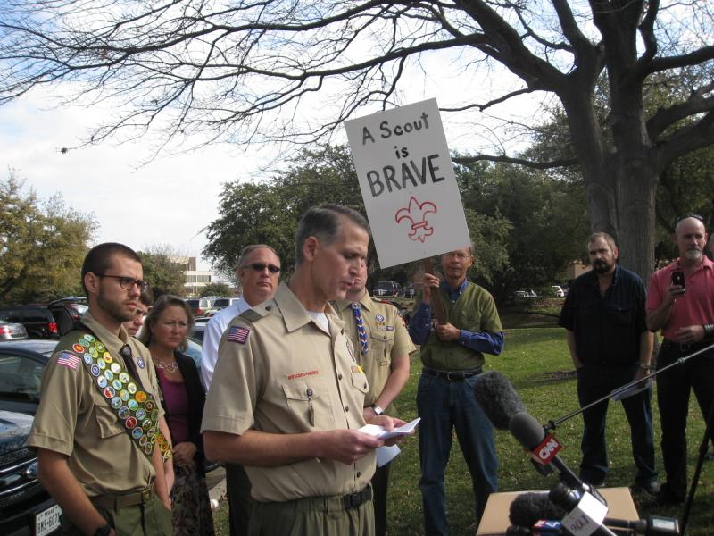 Greg Bourke, former Scout leader demanding end to gay ban