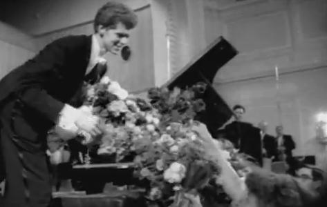 Van Cliburn's recording of Tchaikovsky's First Piano Concerto was the first million-seller in classical music history.