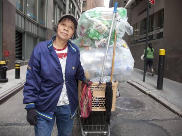 The New York City recyclers in the Oscar-nominated documentary short 'Redemption', like Lilly, survive on the cans and plastic they cash in.
