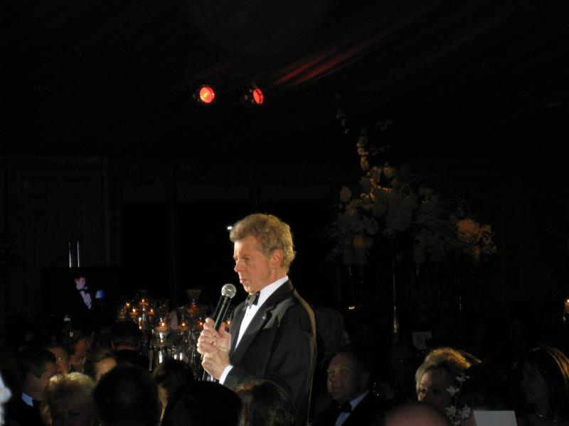 Van Cliburn at a gala music fundraiser in Fort Worth