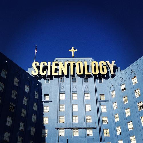 This elaborate Scientology building in LA catches the eyes of passersby, to say the least.