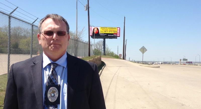 Dallas County Sr. Sgt. Investigator, Gene (Buddy) Evans Jr. came up with the idea to put up billboards featuring the most wanted domestic violence suspects.