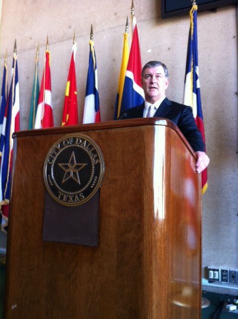 Dallas Mayor Mike Rawlings has captured national attention with his call for men to lead the effort to end violence against women. He was invited to speak at a recent event in New York City for the UN Commission on the Status of Women.