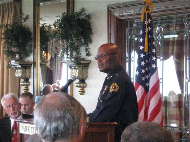 Dallas Police Chief David Brown.