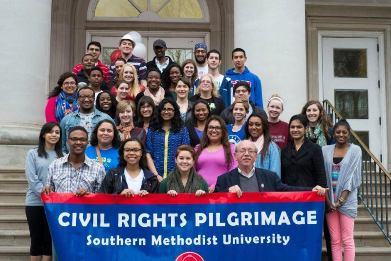 This is the 9th year SMU students have taken the Civil Rights Pilgrimage trip.