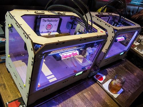 The MakerBot Replicator was a big hit at SXSW 2012. This year, MakerBot's Bre Pettis will deliver opening remarks..