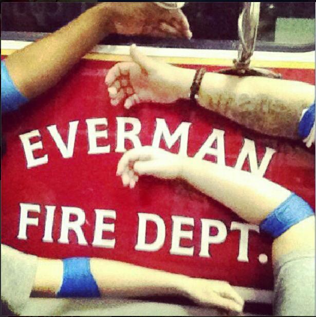 #WestTexas...Everman FD donated blood today