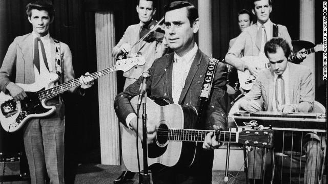 Country superstar George Jones had his admirers - and one was a Supreme Court Justice.