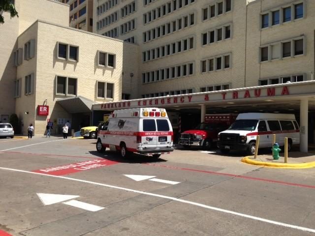 Parkland Hospital is treating some of the victims injured in a bus crash in Irving Thursday morning.