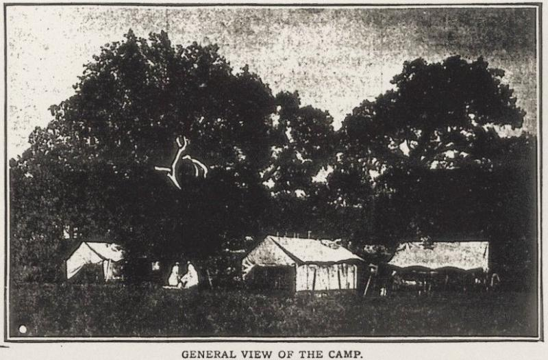 In April of 1913, May Forster Smith created the Dallas Baby Camp: four donated tents beneath the trees on what is now Oak Lawn.