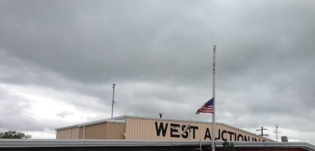 Flags flew at half-mast in West, Texas Thursday morning.