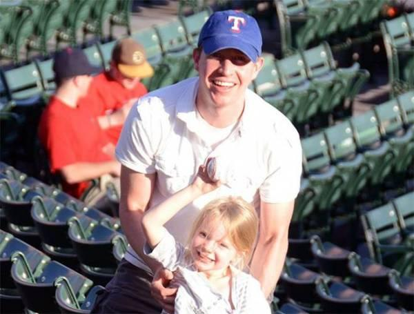 Robbie Parker spent his first few grade school years in North Texas. He shared his devotion to the Rangers with Emilie, his daughter, who died in the Sandy Hook shootings.