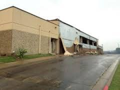 West ISD Intermediate School, after the fertilizer plant explosion