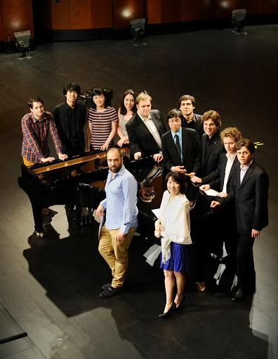 The 14th Cliburn Competition's twelve semi-finalists, in Fort Worth's Bass Hall