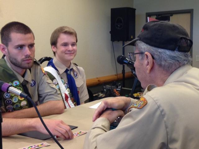 Will Oliver and Pascal Tessier an openly gay Eagle Scout and Eagle Scout hopeful are committed to what they call Scouting equality.