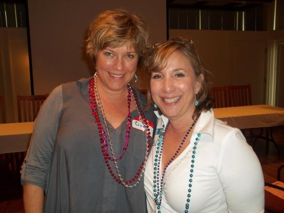 Cindy Salit and Julie Shrell both have BRCA mutations that heavily predispose them to breast and ovarian cancer.