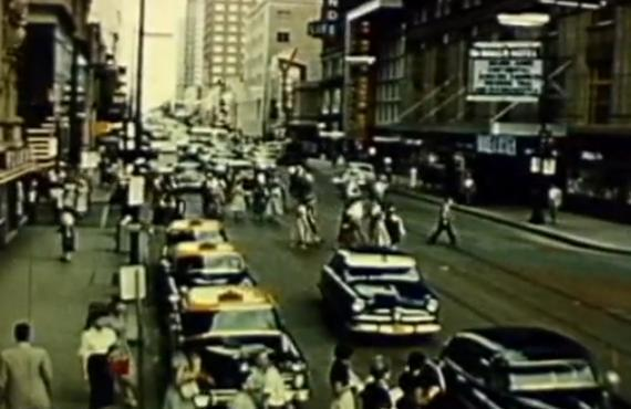 'Report to Dallas' from 1955 shows a growing city taxed by on-road congestion. Sound familiar?