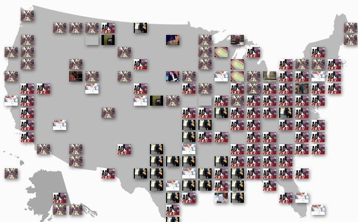 You can now browse most-viewed videos by city and age group via the interactive YouTube trends map.