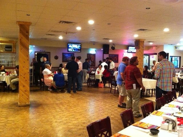 Many more people have arrived for Espino election party at at Nuevo León  fw' s north side