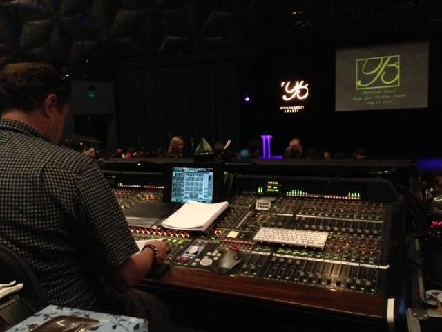 The Buckley Awards have major production value with a full tilt crew running the show.