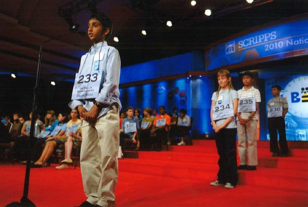 Chetan Reddy took the podium at his first Scripps National Spelling Bee in 2010 when he was in fifth grade.