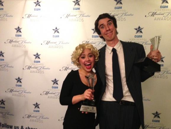 The DSM named Dakota Ratliff and Cameron Wenrich Best Actress and Best Actor