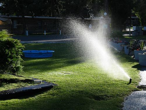 Summer outdoor watering restriction are in place for much of North Texas.