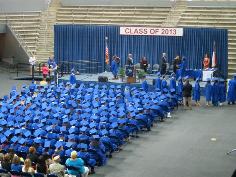 The Dallas Can Academy in Oakcliff graduates its biggest class.
