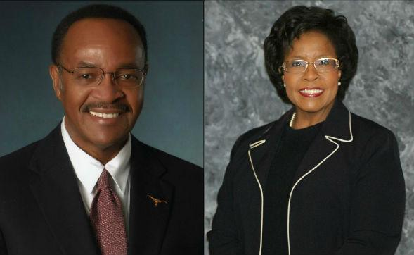 Incumbent Frank Moss faces challenger Gyna Bivens in District 5 runoff.