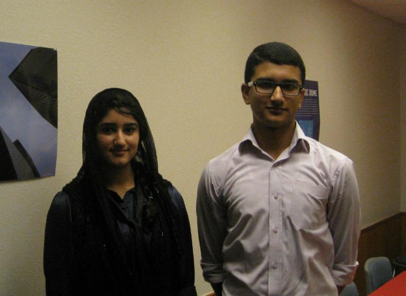Summer bizcamp team of sister/brother Alisha and Daniyal Hamid