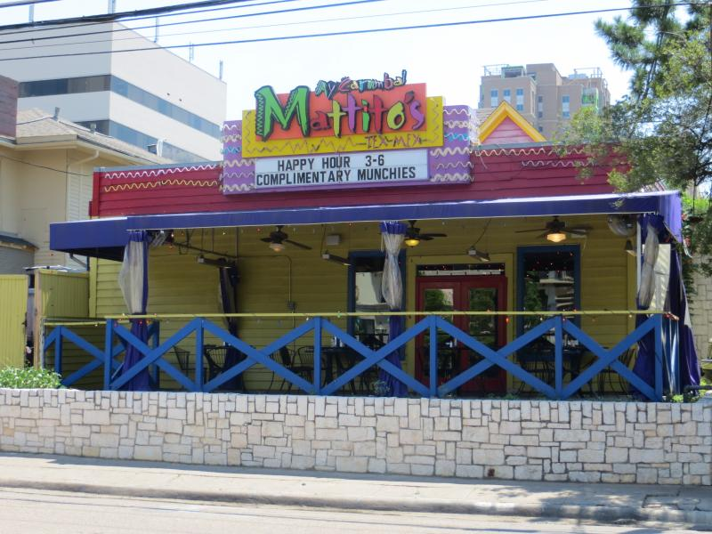 The roof of Mattito's in Uptown is all that's left of the Little Mexico grocery operated by Sol Villasana's grandfather.