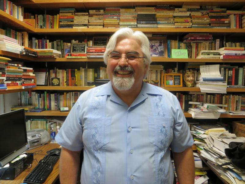Roberto Calderon, an associate history professor at the University of North Texas, is preparing to publish a book on the Hispanics who settled North Texas.