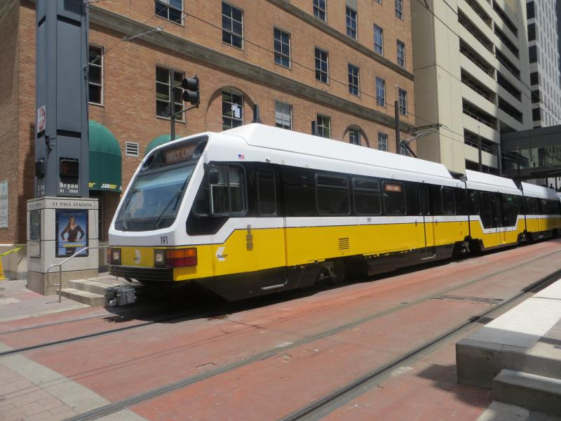 Track replacement will affect rail service in downtown Dallas for six weekends.