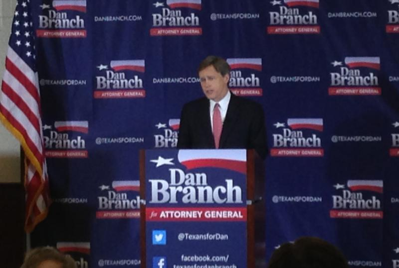 Branch says his top priority if he wins the A.G. race will be protecting constitutional liberties.