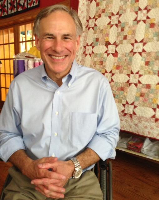 Attorney General Greg Abbott made a stop in Duncanville Tuesday, his first North Texas speech in his two day old campaign for governor.