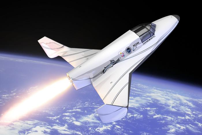 The XCOR Aerospace Lynx spacecraft, now under construction, will take both citizen-scientists and science experiments into space when it begins flights into low-Earth orbit.