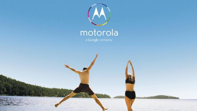 "One of Motorla's ads for its Moto X phone. Its tagline: ""Designed by you. Assembled in the USA."""
