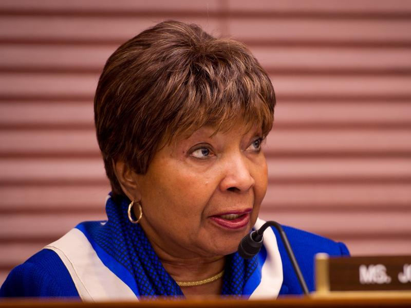 """We cannot go into every country that has an uprising,"" U.S. Rep. Eddie Bernice Johnson (D-Dallas) said Friday, ""without going through NATO or the UN or a partnership with other countries.  We don't have the money to take on everybody's war."""