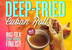 Deep Fried Cuban Roll