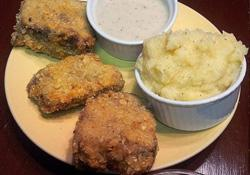 Southern Style Chicken-Fried Meatloaf