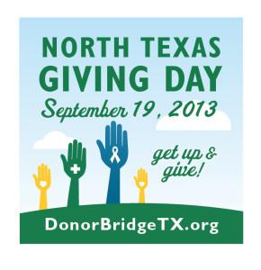 Today is a good day to donate to your favorite nonprofit. Visit donorbridgetx.org for more details.