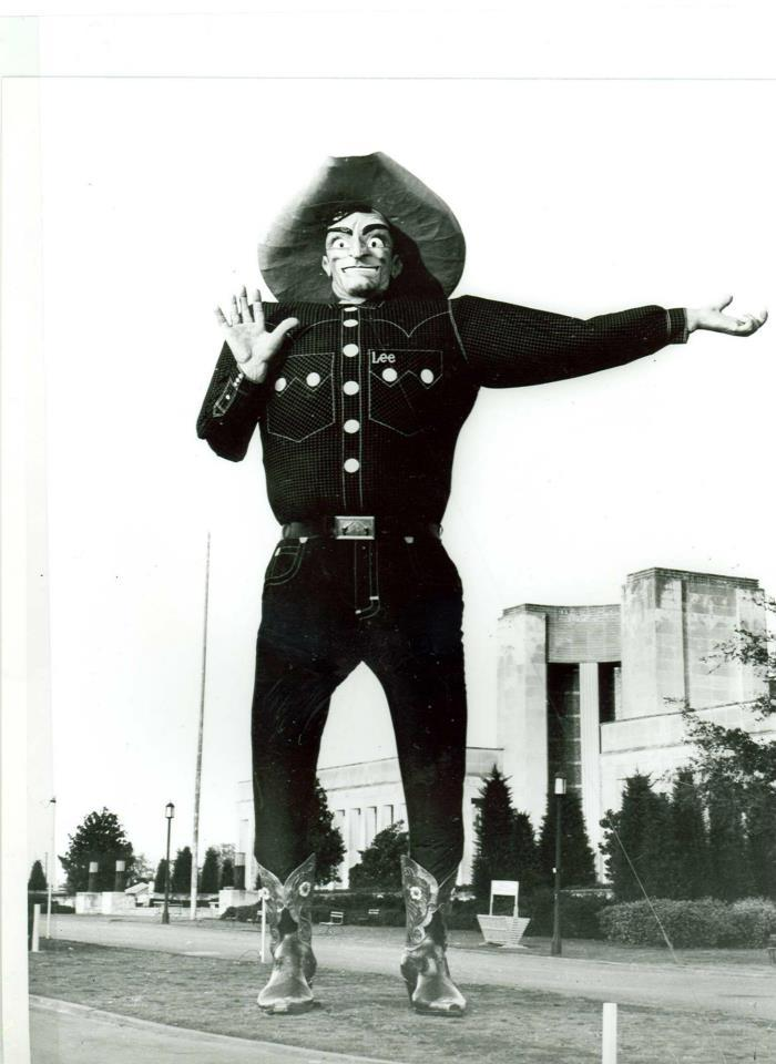 Big Tex in 1954.
