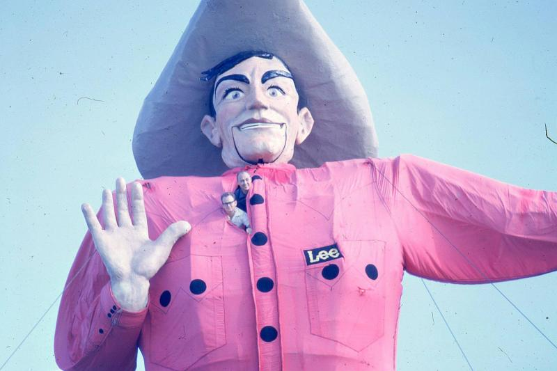 "Big Tex in 1962, around the time he starred in ""State Fair"" with Pat Boone and Ann-Margret."