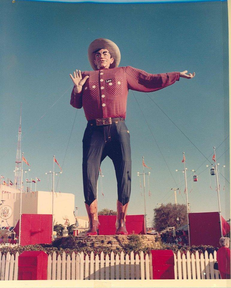 Big Tex in 1970.