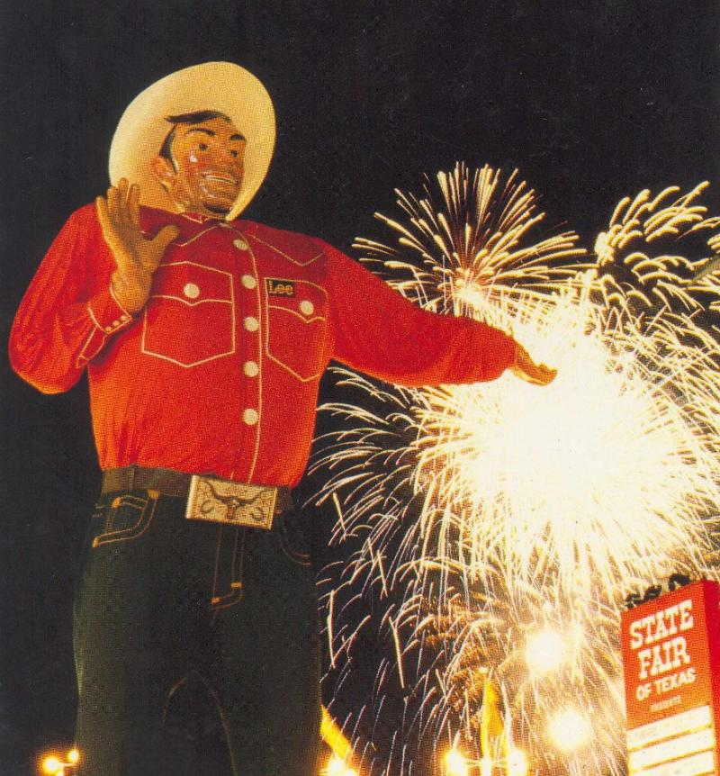 Big Tex in 1980.
