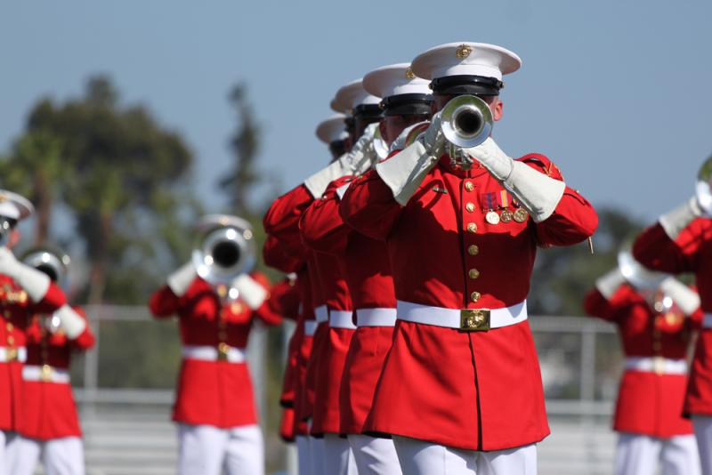 U.S. Marine Drum and Bugle Corps will be a no-show at this year's State Fair.