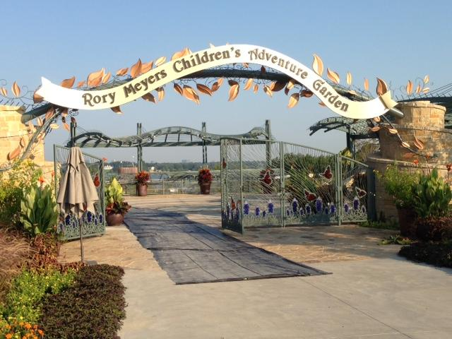 "The Rory Meyers Children's Adventure Garden was designed with the motto ""education first."""