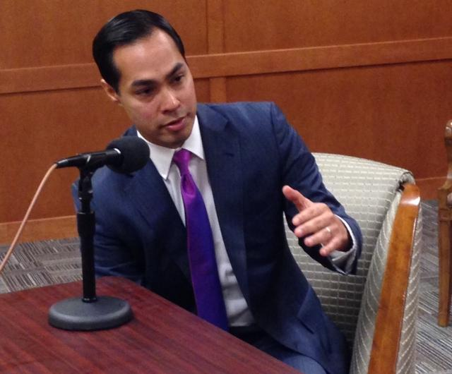 Julián Castro weighs in on a Wendy Davis gubernatorial run and also explains his odd allegiance to the Philadelphia Eagles in this week's Friday Conversation.
